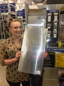 Laura & Metal Sheet Love